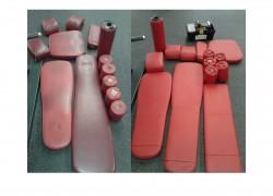 Ремонт педикюрных кресел (перетяжка обивки)