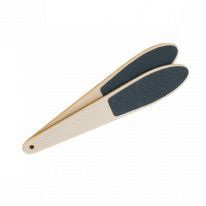 Пилка для ног большая 2-сторонняя деревянная