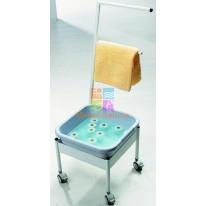 Мобильная ванночка для ног пластиковая Ionto Blue