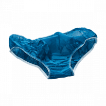 Трусы мужские плавки Спанбонд размер 50-52 Синий 10 шт/уп