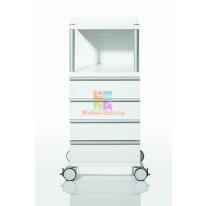 Косметологическая тумба CUBUS 400 с 4-мя ящиками
