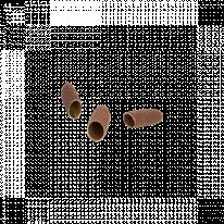 Колпачки абразивные диаметр 5 мм, абразив 80 10 шт/уп