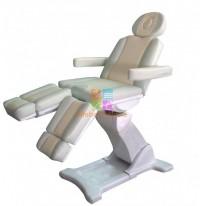 Педикюрно-косметологическое кресло Оникс-5 на электроприводе (5 моторов)