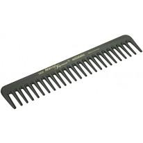 Расчёска каучуковая с редкими зубчиками 18,8 см