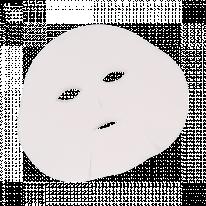 Маска косметологическая без воротника спанлейс белый 25 шт/упк