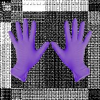 Перчатки нитриловые Фиолетовый 200 шт/уп