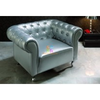 Кресло Dupen B-7 silver