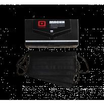 Маска 3-х слойная на резинках Черная 1-Touch 50 шт/упк