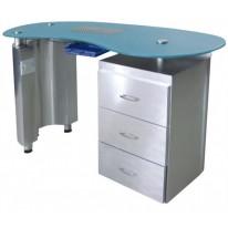Стол для маникюра МД-9100 B (с вытяжкой)