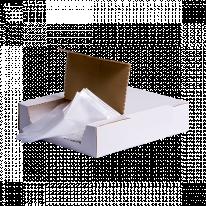 Простыня Полиэтилен Прозрачный 200х230 20 шту/уп Коробка