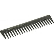 Расчёска-гребень с редкими зубцами черная