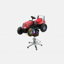 Детское парикмахерское кресло Трактор Ред