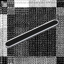 Пилка для ногтей Черная абразив 180/240