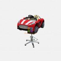 Детское парикмахерское кресло Авто Кабрио красный