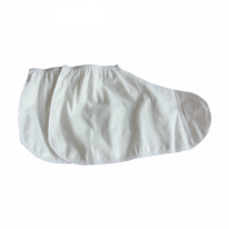 Носки для парафинотерапии утолщённые Спанлейс белый 1 пара/уп