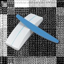Пилка для натуральных ногтей абразив 240 - 40 поверхностей