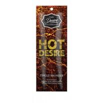 """Лосьон для загара с бронзатором """"Hot Desire"""" 15 мл. (тингл эффект)"""