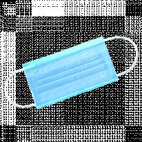 Маска 3-х слойная на резинках 1-Touch Эконом 50 шт/упк
