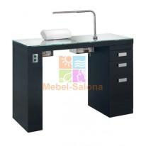 Маникюрный стол Smart Nails Black с вытяжкой