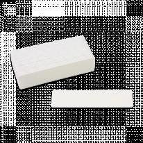 Пилка Набор сменных поверхностей для шлифовки стоп 40 шт абразив 180 размер 132х36 Белый