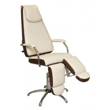 """Педикюрное кресло """"МИЛАНА"""" гидравлическое с опорами под ноги"""