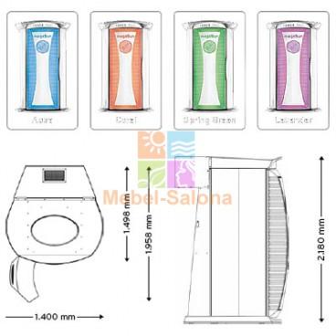 Вертикальный солярий MegaSun Tower Space 3000