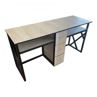 """Маникюрный стол двойной """"Лофт"""""""