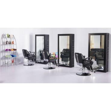Кресло парикмахерское A100 Черное