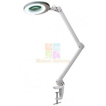 Лампа-лупа на кронштейне 8 диоптрий, 80 светодиодов, 8Вт