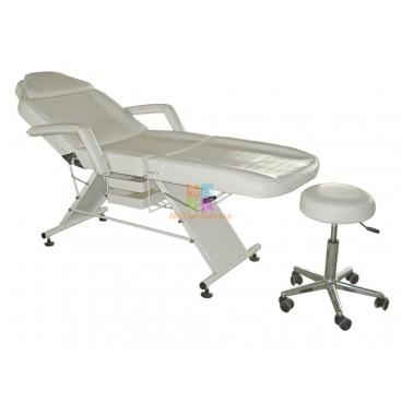 Кресло косметолога с двумя лотками